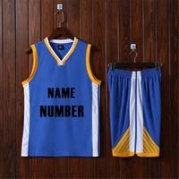 Adsmoney Men plain running suits vest and shorts sportswear basketball jerseys adult blank basketball sets man sports kits