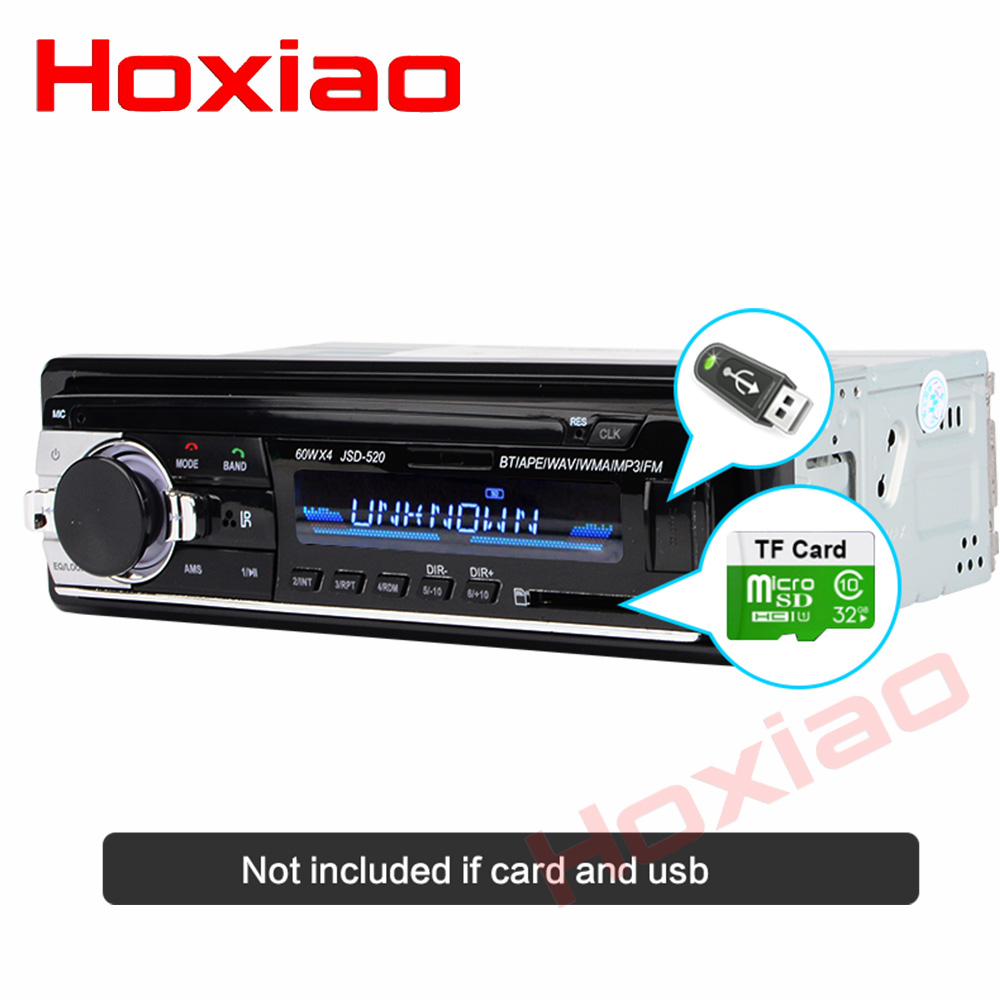 Image 5 - Bluetooth Autoradio 12V Car Stereo Radio FM Aux IN Input Receiver SD USB In dash 1 din Car MP3 Multimedia Player-in Car Radios from Automobiles & Motorcycles