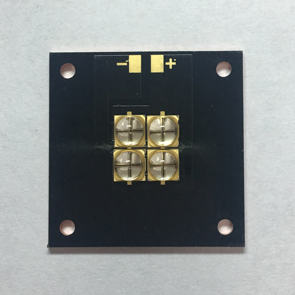 40 watts high-power LED UV violet 6565 365nm 370nm 380nm 385nm 395nm   400nm 405nm 40*40mm board 10w 12w ultra violet uv 365nm 380nm 395nm high power led emitting diode on 20mm cooper star pcb