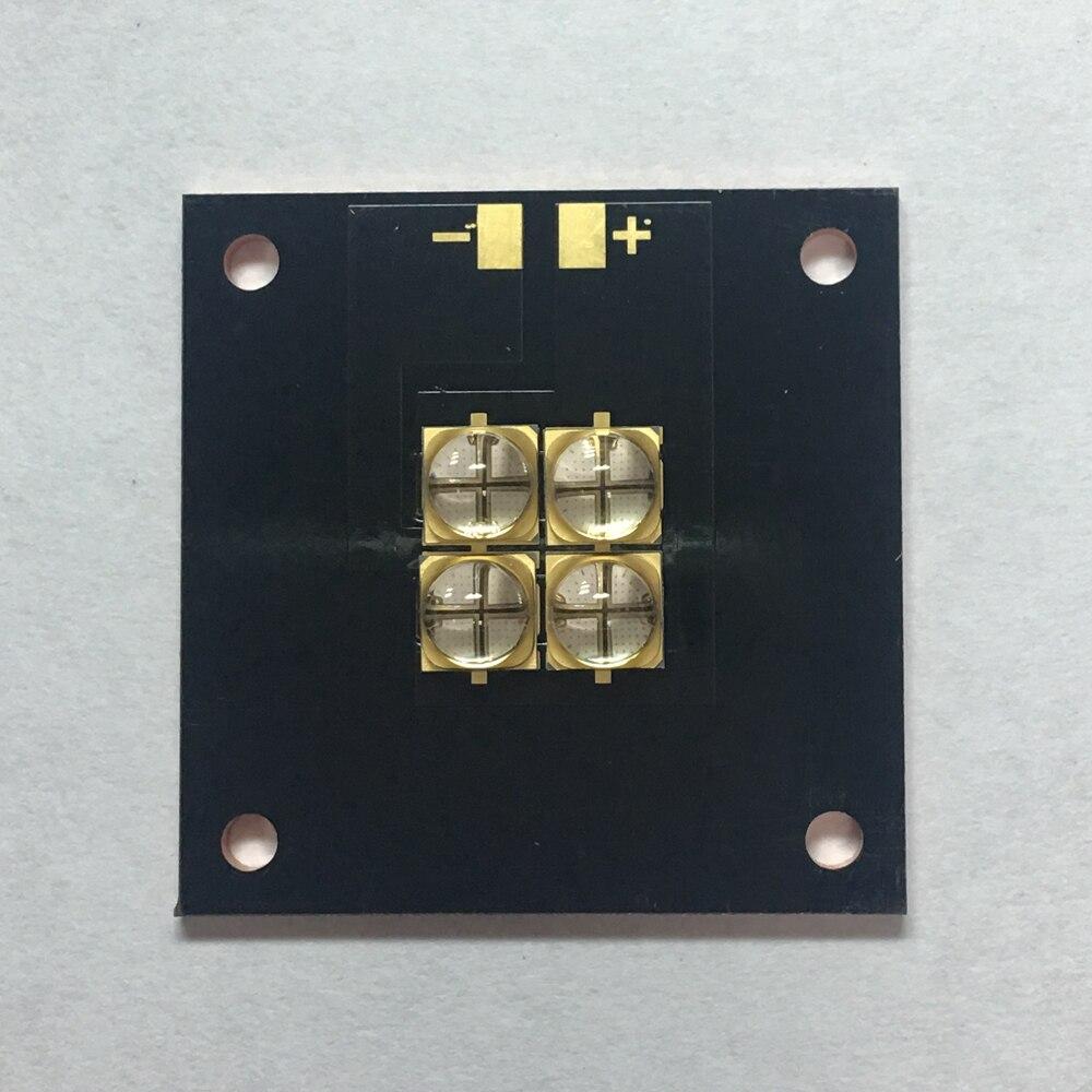 The New 40 watts high-power LED UV violet 6565 365nm 370nm 380nm 385nm 395nm 400nm 405nm 40*40mm board 20w high power led uv ultra violet purple light chip 365nm 370nm 380nm 385nm 395nm 400nm 420nm 425nm led light source epileds
