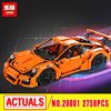 LEPIN 20001 Technic Series 911 GT3 RS Model Building Kits Mini Figures Blocks Bricks Boy Toys