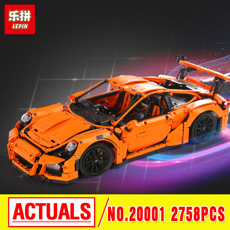 LEPIN 20001 Technic Series Model Building Kits  Assembling Blocks Bricks Toys Compatible With 42056 Lovely Gifts free shipping lepin 21002 technic series mini cooper model building kits blocks bricks toys compatible with10242
