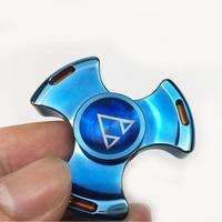 Wholsale 5 PCS Lot Seiko Rotablade Awesome Metal Fidget Spinner Tri Spinner EDC Gyro Toys Hand