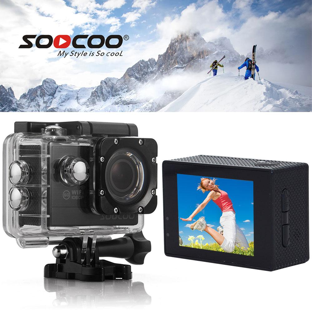 SOOCOO C20 WIFI Wide Angle 2 Camcorder 170 Wide Angle Premium Photography Waterproof Sports Camera Action Cam