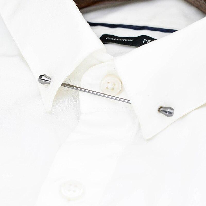 Nueva Forma De Gafas Clip de Corbata para hombres trajes Corbata Clips Barra Broche Venta caliente