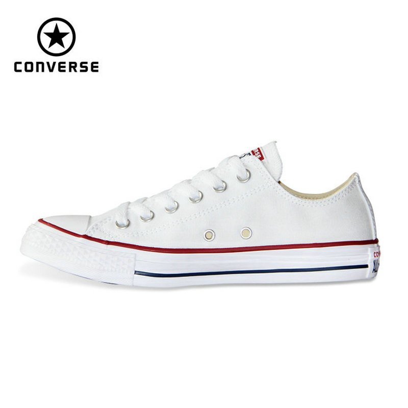 Nova Originais Converse all star lona homem e mulheres de baixa tênis clássicos Sapatos de Skate cor preta frete grátis 101000