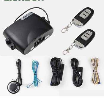 car alarm central locking with remote start signaling remote start bite alarm keyless entry system bite alarm start stop button
