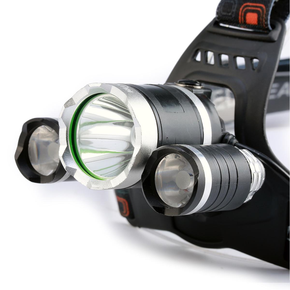 Faróis de Led lanterna tocha farol 18650 carregador Proposito : Camping, climbing, hunting, night Fishing, night Walk/ride