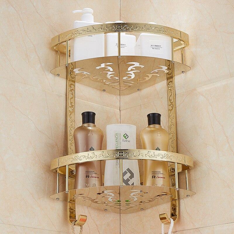 Panier Triangle panier de rangement salle de bain inox etagere d angle cuisine salle de bain support triangulaire etagere salle de bain Double