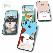 Cute Cat Dog  For Huawei NOVA 3 Case for P30 P20 lite Cases Pro P8 P9 P10 P Smart 2019 3i