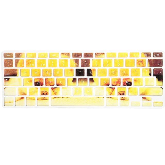 EU/UK layout Spanisch Ombre Farben Silikon Skin für MacBook Pro 13 ...