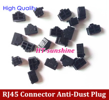 Free Shipping NEW RJ45 Connector Anti-Dust Stopper/Plug for Laptop, PC, Desktop