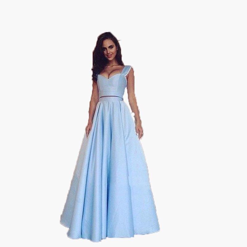 Небесно-Голубой официальная Вечеринка юбка для выпускного вечера Длинная юбка для леди Ruched Макси Юбки для женщин аксессуары для волос Высо...