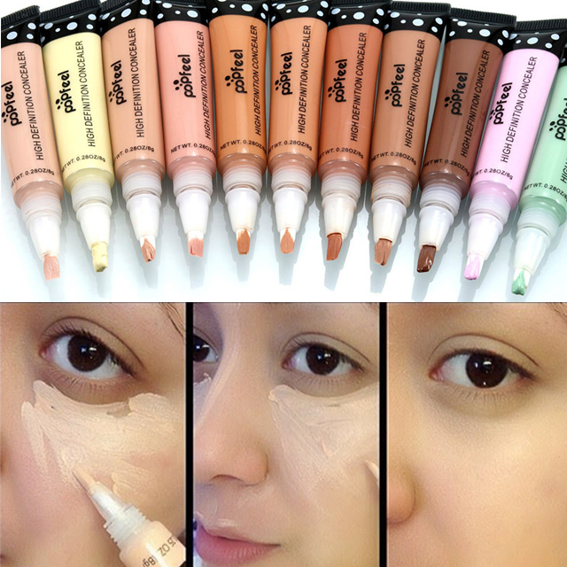 Nova Etiqueta 11 cor Corretivo Facial Dermacol Base Corretivo Creme Contorno Bronzer Camouflage Concealer Vara Maquiagem Marcador