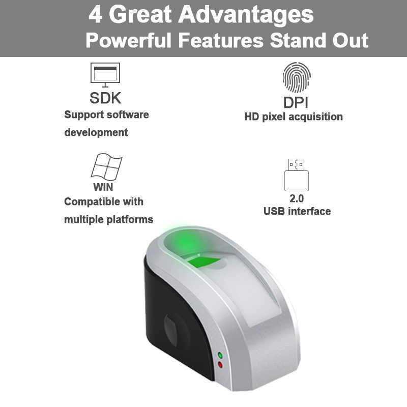Eseye USB Fingerprint Reader Free SDK Fingerprint Sensor USB Biometric  Fingerprint Scanner Sensor With SDK Windows Linux