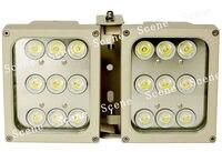 40 Вт высокой мощности LED белый свет, прожектор, billboard Свет с алюминиевой материала и ночного видения источников света