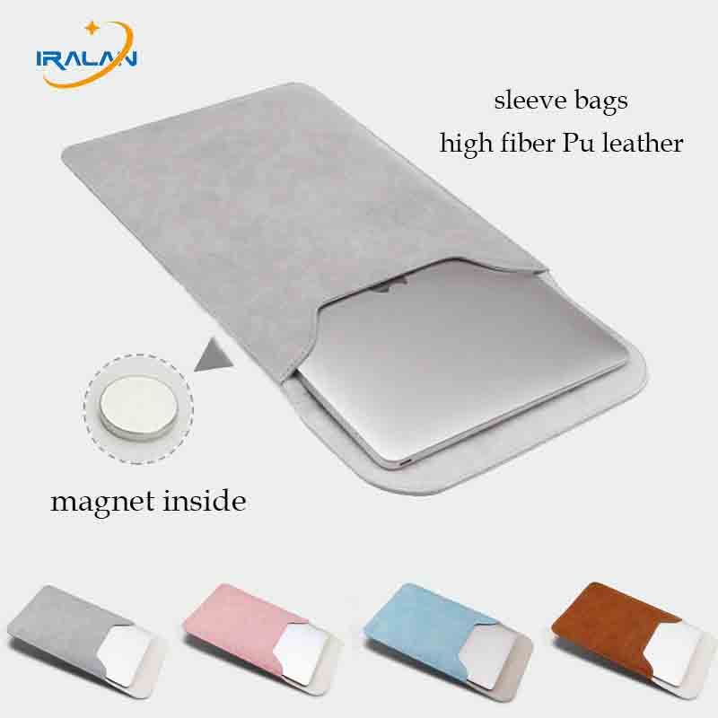 PU leather notebook for Macbook Air 11 13 12 Pro 13 Cover Sleeve Laptop Bag Women Men Waterproof for Macbook Touch bar 15Case