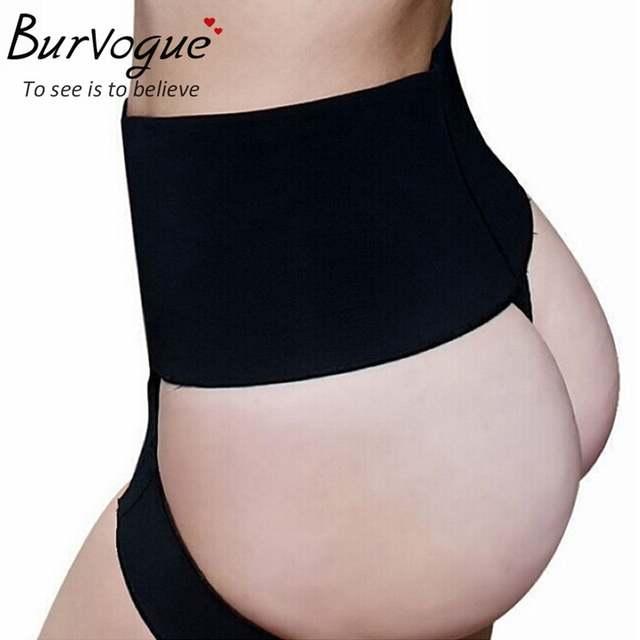 3874d6a7da2 placeholder Burvogue sexy women butt lift shaper panties plus size boyShort  butt enhancer panty booty lifter with
