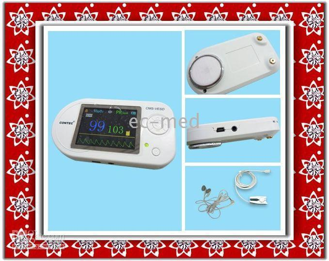 2 pic Wholesale - -CMS-VESD New Visual Electronic Stethoscope with ECG, PR ,SpO2 ,PC software and review data!48hr Dispatch