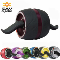 Fitness Wheel Tonificador Abdominal Abs Machine Muscle Trainer Arm Exercises Roller Power Strength Fitness Roller Workout Tools