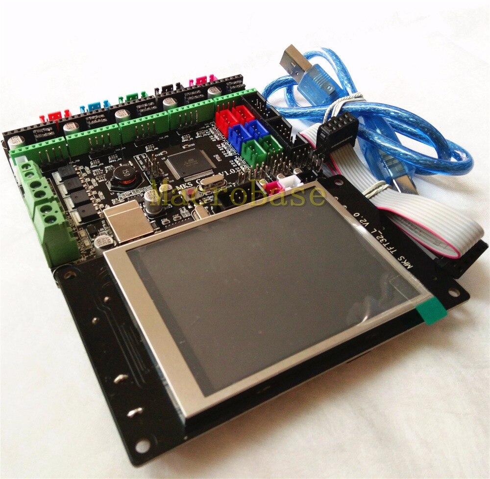 MKS GEN L V1 0 MKS TFT32 LCD touching display cheap font b 3D b font