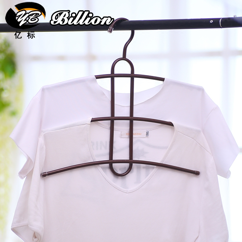 Free shipping non slip metal hangers of fishbone clothes for Creative clothes hangers