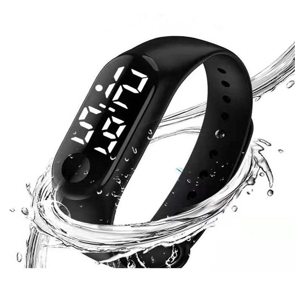 LED Electronic Sports Luminous Sensor Watches Fashion Men and Women Watches  Dress Watch digital Watch fashion gif Men's wa 4