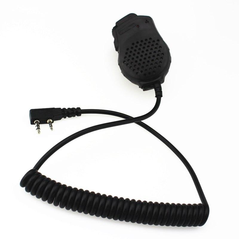 Speaker Mic Microphone Dual PTT For Baofeng Two Way Radio UV-82 UV-82L UV-8D UV-89 UV-82HP Series Portable Radio