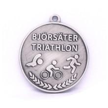 antique silver medal low price custom metal Silver Award Souvenir Medal hot sale sports