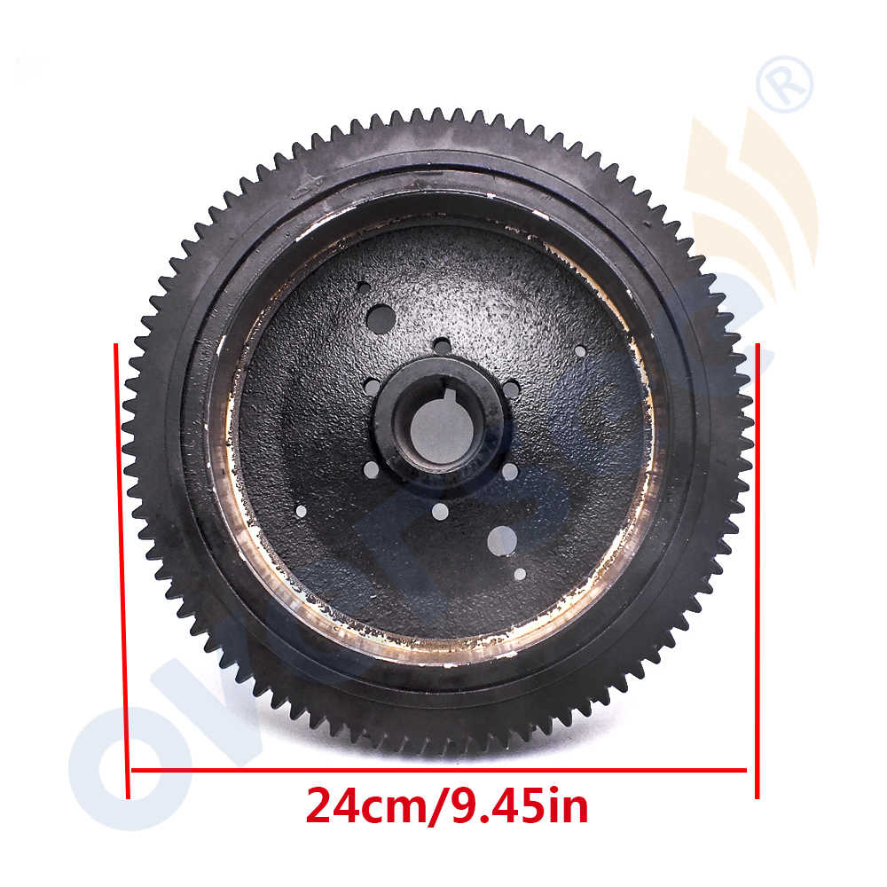 detail feedback questions about 65w 85550 11 electrical rotor flywheel for yamaha parsun 4 stroke 20hp 25hp 40hp outboard motor f25 f40 05180000w on  [ 1000 x 1000 Pixel ]