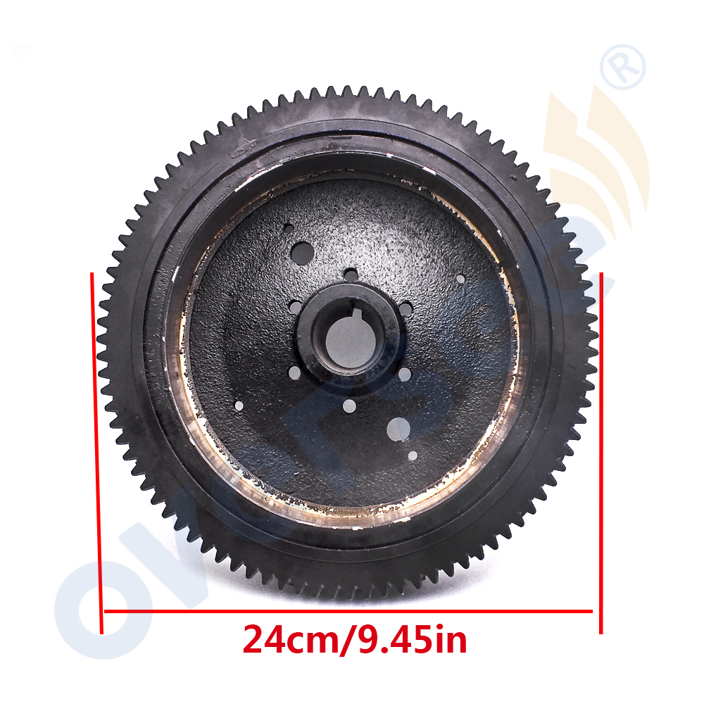 65W-85550-11 Electrical Rotor Flywheel For Yamaha Parsun 4 Stroke 20HP 25HP 40HP Outboard Motor F25 F40-05180000W