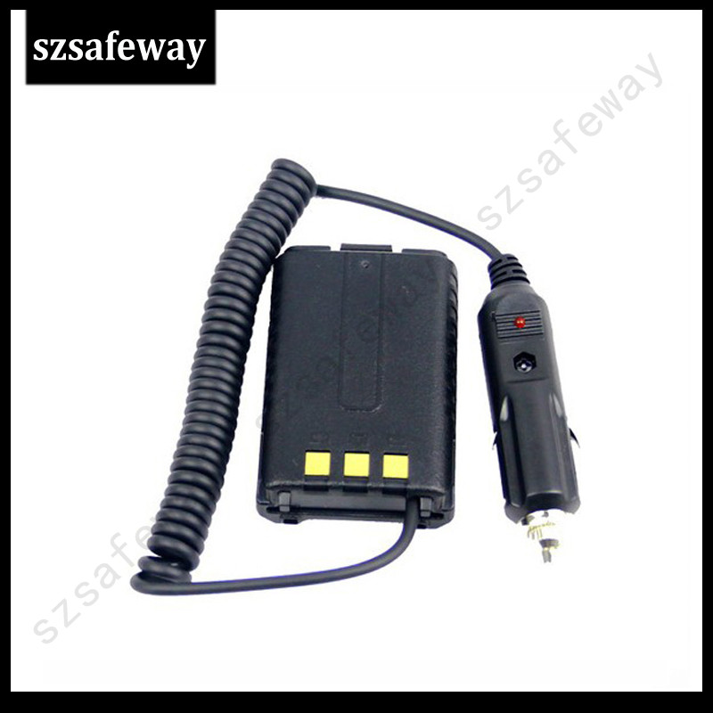 Two Way Radio Battery Eliminator Car Charger For Baofeng UV-5R UV 5R Free Shipping