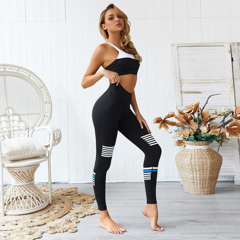 yoga sets women gym clothes (10)