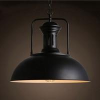 10pcs Lot Pendant Lamp Industrial Retro Style Iron Art Pendant Light Edison Bulb American Village Lamps