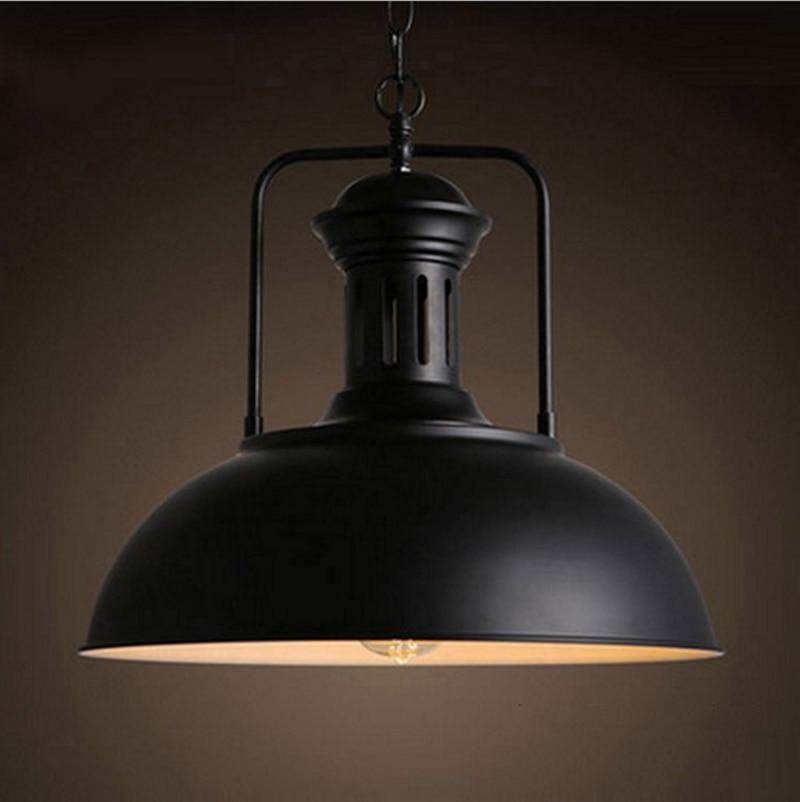 10pcs/lot Pendant lamp Industrial retro style iron Art Pendant light Edison bulb American village lamps Hanging Lamp loft style amber glass pendant lamp vintage edison light retro iron art industrial pendant light for cafe bar hanging lamps