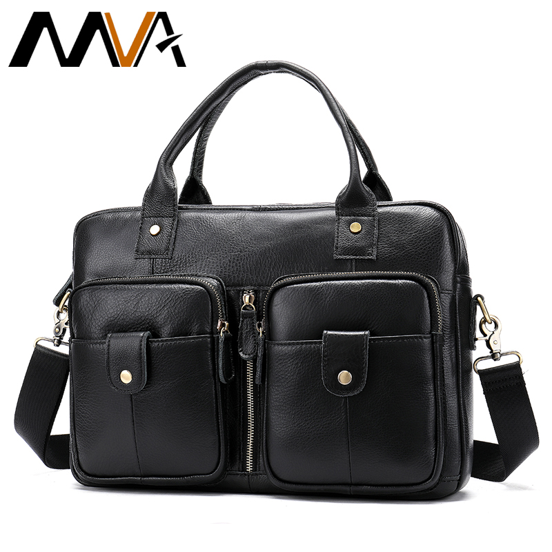 MVA Mens Briefcase Leather Bag Men Handbag Office Bags for Men Documents Business Laptop Messenger Bag Man Suitcases Tote 8539MVA Mens Briefcase Leather Bag Men Handbag Office Bags for Men Documents Business Laptop Messenger Bag Man Suitcases Tote 8539