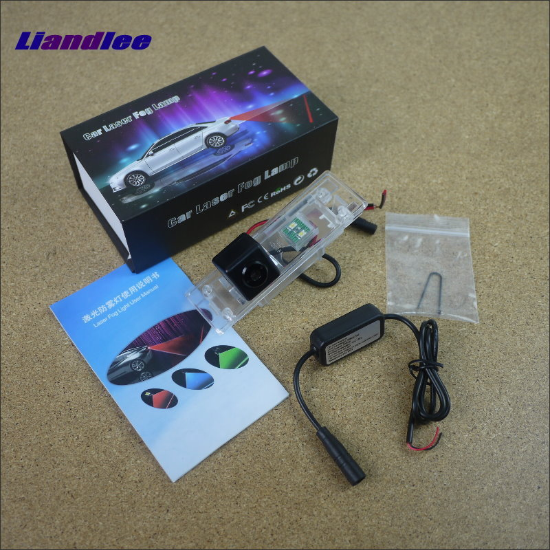 Liandlee Car Tracing Cauda Laser Light For BMW Z4 E85 E86 E89 Modified Special Anti Fog Lamps Rear Anti-collision Lights speed test counting module for smart tracing car yellow