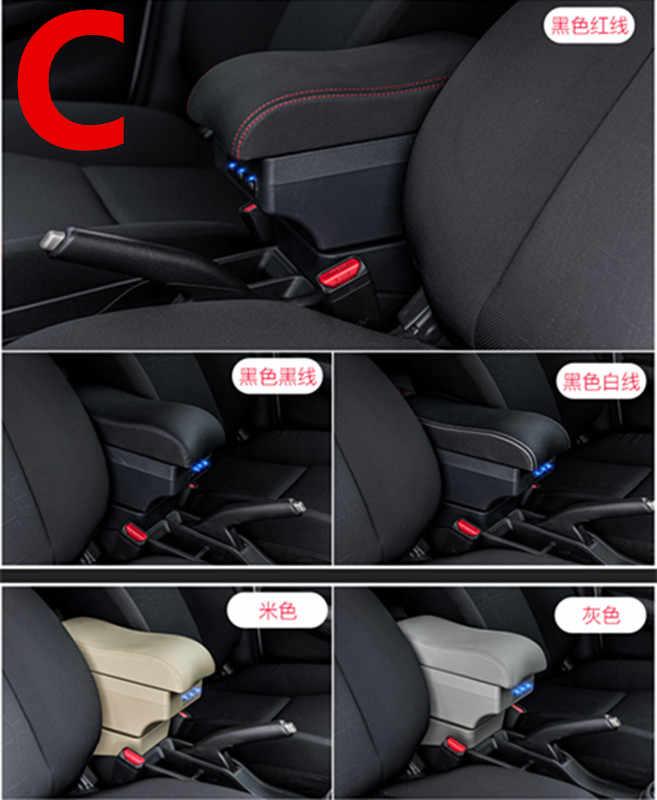 Для Suzuki VITARA подлокотник коробка салона автомобиля подлокотник двойной слой Перезаряжаемый USB