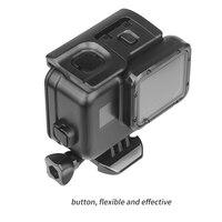 Снимать для использования на глубине до 45 м подводный Водонепроницаемый чехол для спортивной экшн-камеры Go Pro Hero 7 6 5 Black Label Дайвинг Pro tective кр... 2