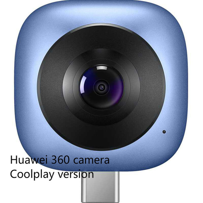 Huawei Envizion 360 Panoramic Camera Coolplay CV60 Lens Hd 3D Live Motion Camera Android 360 Degree Wide Angle Phone External(China)