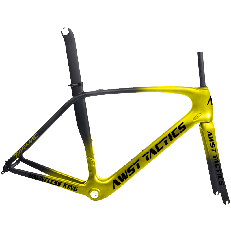 49-58cm Aero Straight OEM Carbon Road Racing Carbon Fiber Road Frame  Carbon Road Frame Cycling Bicycle Racing Bike