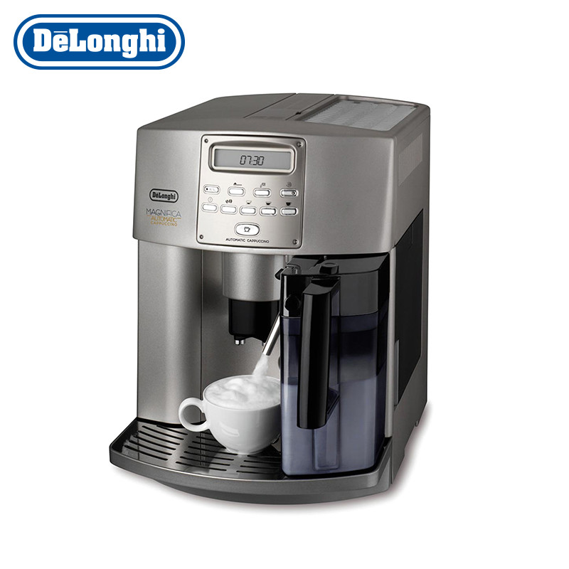Coffee Maker Delonghi ESAM3500.S cappuccino grinder kapuchinator automatic sweet plus size scoop neck flounce sleeves chiffon blouse for women