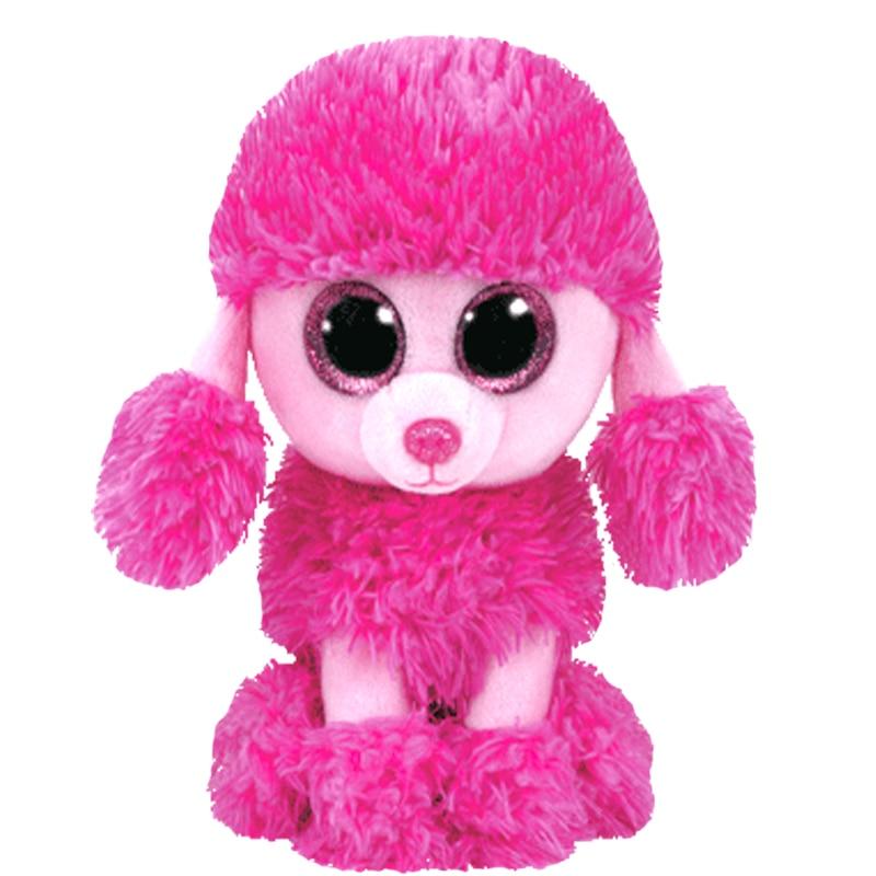 Plush Dolls Ty Beanie Boos 6 15cm   10 25cm ROCKY the Patrol dog Stuffed  Animal Collection Soft Big eyes Toys Gift 85175c2d78e7