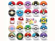 21/pcs Action & Toy Figures 7cm balls+21pcs Free Random Mini Figures Inside Anime Action & Toy Figures for Children