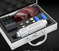 Последним Высокое Качество 450nm 5000 м Синий Свет Лазерная Указка Pen мощность Пучка 5 Глава использовать 2x16340 С Зарядным Устройством И Безопасности очки