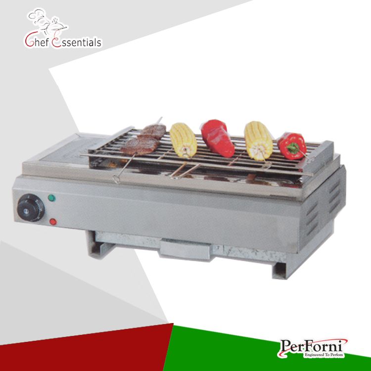 PKJG-EB580 Electric Smokeless Barbecue Oven used barbecue BBQ grill automatic smokeless bbq grill household electric hotplate stove teppanyaki barbecue pan skewer machine stainless steel outdoor