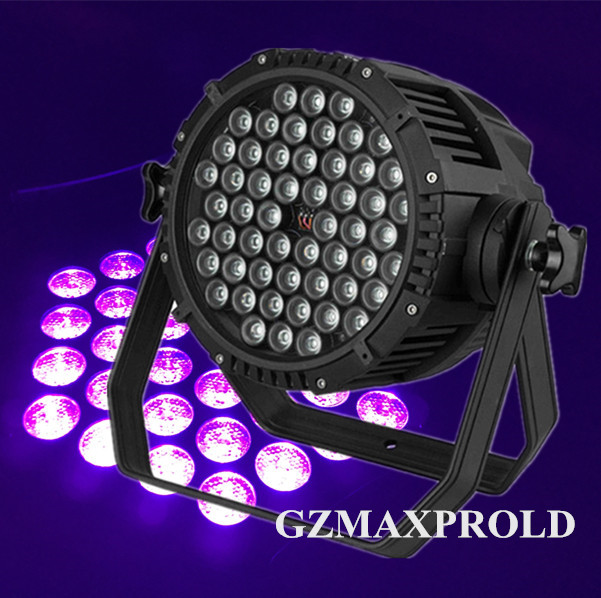 Lights & Lighting 8pcs/lot 54x3w Led Uv Purple Led Stage Light Par Light For Disco Dj Ktv Bar Party Backlight Projector Spotlight Lamp Eu/us Plug Various Styles