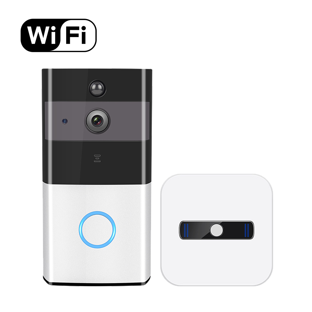 Video Ring Home Doorbell Waterproof APP Remote 720P Motion Detection WiFi Video Camera Door Phone Intercom app remote control 720p wifi video door phone