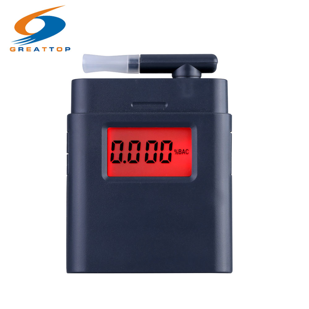 2016 Hot Hoge Gevoelige Adem Alcohol Tester Prefessionele LCD Digitale Ademhalingstoestel met Backlight Alcohol Detector Alcotester