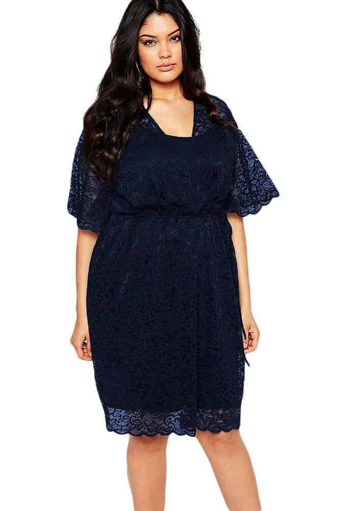 Online Get Cheap Navy Blue Wrap Dress -Aliexpress.com | Alibaba Group